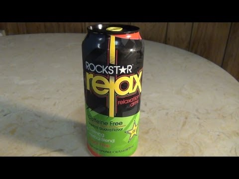 ROCKSTAR Relax drink review