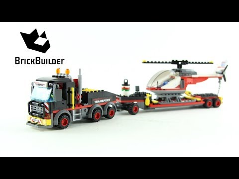 Lego City 60183 Heavy Cargo Transport - Lego Speed Build