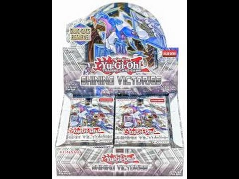CRYSTAL WING SYNCHRO DRAGON   UNBOXING SHINING VICTORIES VI BOOSTER BOX  