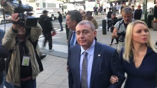 Giuliani associate Lev Parnas arrives at court
