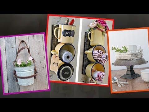 30 Ways DIY Farmhouse Decor Ideas Can Make Your Home Unique