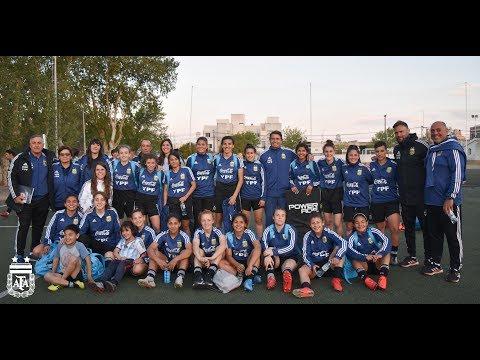 #SelecciónFemenina Visita de la Selección Sub 20 a Río Cuarto