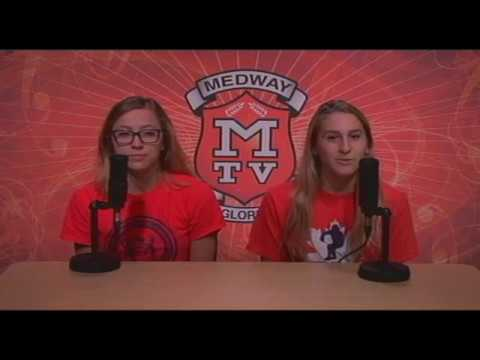 Medway TV - September 28, 2017  Medway High School Morning Announcements