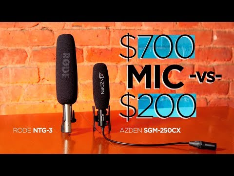 Microphones—Can you hear the $500 difference?