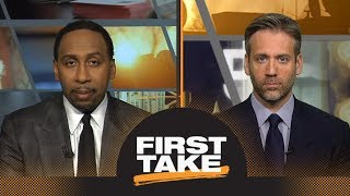 Stephen A. and Max react to Patriots beating Jaguars in AFC Championship | First Take | ESPN