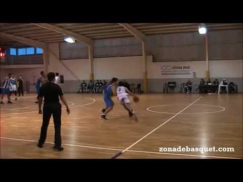 LIGA EBA 17/18   Rodrigo Gómez (Obradoiro), partido ante Ponferrada
