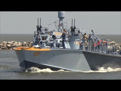 Volunteers restore World War II torpedo boat