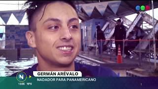 LA HISTORIA DE GERMÁN ARÉVALO, NADADOR CON PARÁLISIS, LA ESPERANZA CORDOBESA PARA PANAMERICANOS
