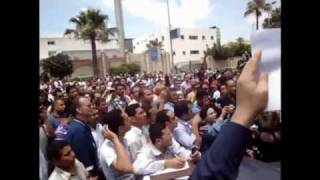جنازه فقيد شباب الاسكندريه خالد سعيد.