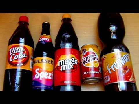 Cola-Orange-Mix Battle [Schwip Schwap | Mezzo Mix | Paulaner Spezi | Vita Cola | LIDL Freeway]