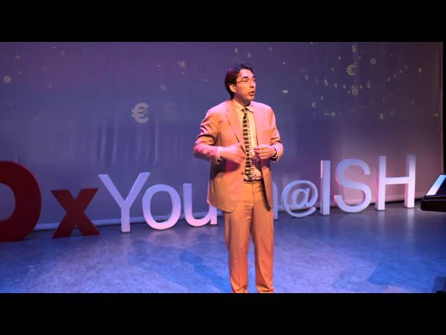 Let's humanize money | Simon Lelieveldt | TEDxYouth@ISH
