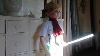 4 Year Old Sings The Jean Genie by David Bowie