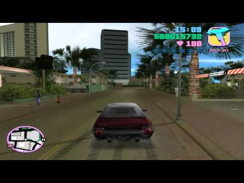 Grand Theft Auto: Vice City - Mission #50 - Sunshine Autos - Wanted List #1 - Stallion