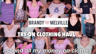 ANOTHER BRANDY MELVILLE TRY-ON HAUL