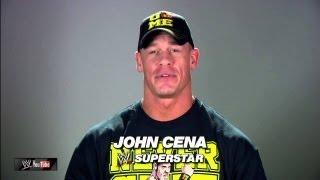 John Cena for the Garden of Dreams Foundation