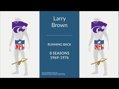 Larry Brown: Football Running Back