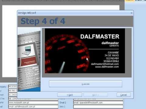 Descarga Programa Para Hacer Tarjetas De Presentacion Portable Youtube