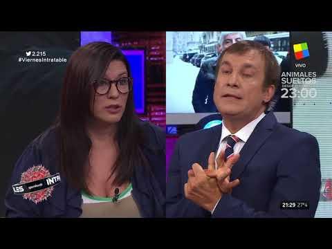 Cynthia García humilló a Paulo Vilouta en una discusión sobre corrupción