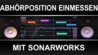 Abhörposition einmessen mit Sonarworks