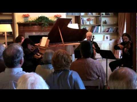 SPQ with Victoria  Schwartzman  Faure  Piano Quartet op.15, 1 mov