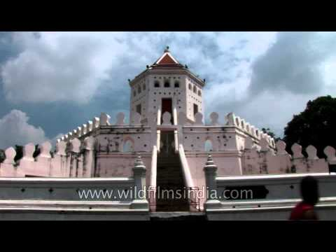 Phra Sumen Fort in Bangkok, Thailand Travel Video