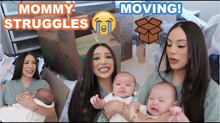 THE STRUGGLES OF MOVING WITH A BABY