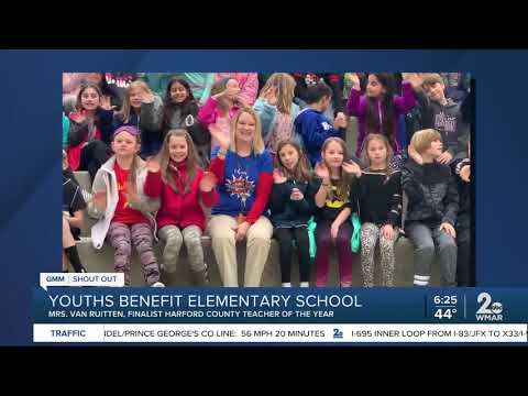 Good morning to the Youths Benefit Elementary School