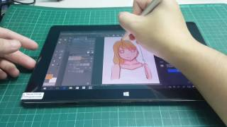 20161122_Drawing with a TABLET - PIPO W1 Pro (1024 pressure sensitivity)