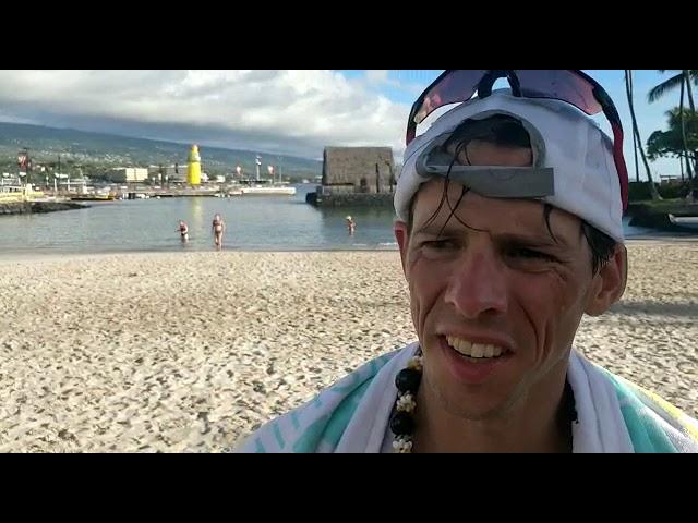 Rik Linssen finisht als tweede Nederlander Ironman Hawaii