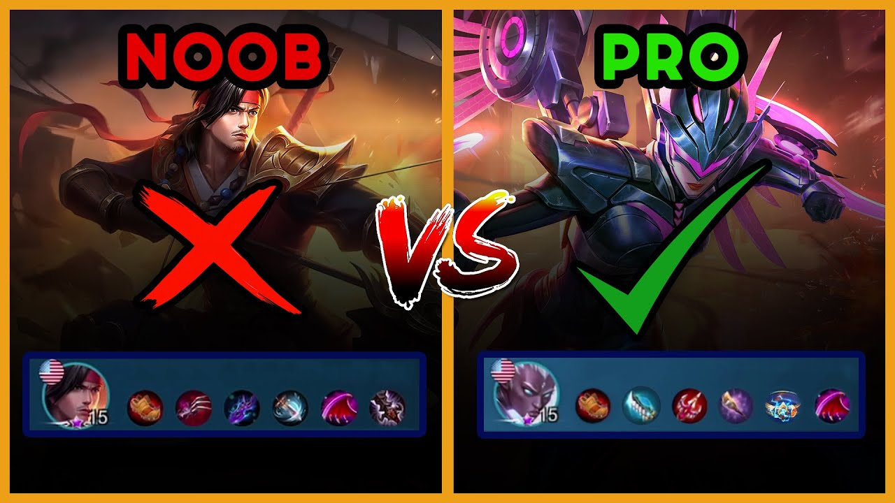 HOW TO BUILD ANY MARKSMAN LIKE A PRO | Mobile Legends