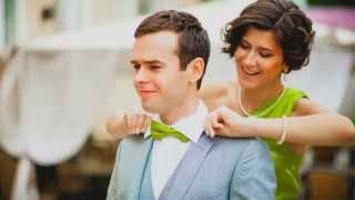Зеленая свадьба (слайд-шоу) / Green Wedding