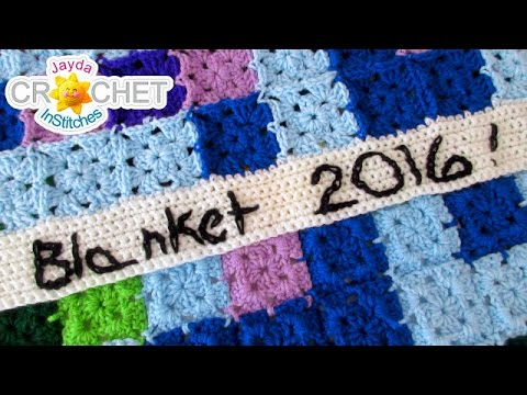 Writing With Crochet Using The Chain Stitch Youtube