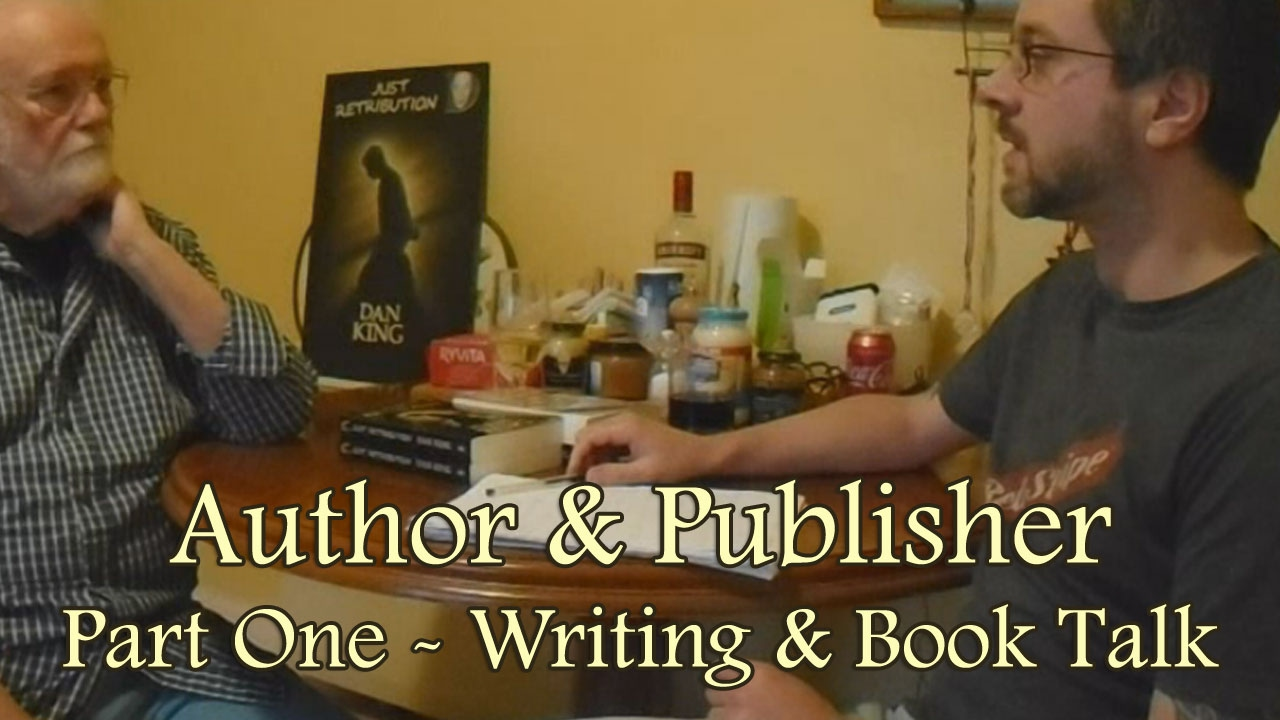 Author publisher part one writing book talk