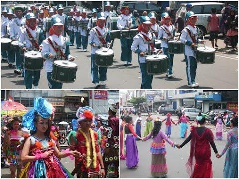 Drumband & Fashion Road SMP Kota Pontianak 2014 [FULL]