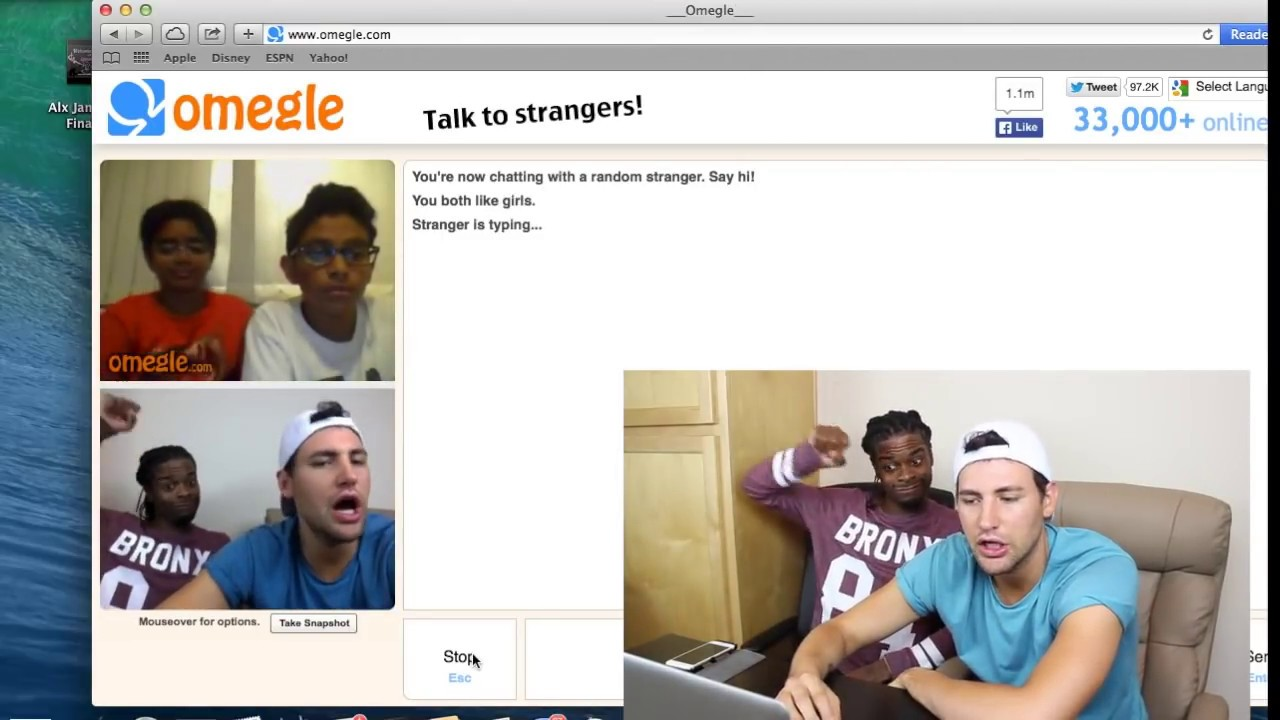 naked people on omegle