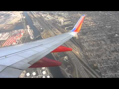 Southwest 737-800 Takeoff from Chicago Midway Airport