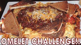 MASSIVE OMELET CHALLENGE IN RHODE ISLAND!!
