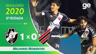 VASCO 1 X 0 ATHLETICO-PR | MELHORES MOMENTOS | 8ª RODADA BRASILEIRÃO 2020 | ge.globo