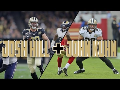 Josh Hill+John Kuhn Highlights 2016-2017ᴴᴰ