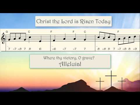 9.3 MB) Christ The Lord Is Risen Today Chords - Free Download MP3
