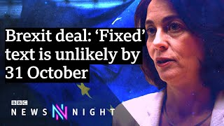 But EU says Brexit 'solution' is possible and SOON - BBC Newsnight