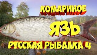 Фарм Язь Комариное озеро рр4 русская рыбалка 4 russian fishing 4 rf4 Алексей Майоров