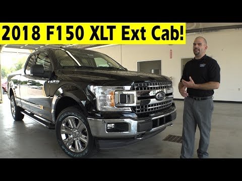 Snow Plow Prep Package Ford - 2018 Ford F150 XLT Extended Cab Exterior & Interior Walkaround