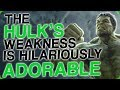 The Hulk's Weakness is Hilariously Adorable (Thor: Ragnarok vs Justice League)