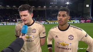 Harry Maguire and Marcus Rashford reflect on Man Utd's strong end to 2019
