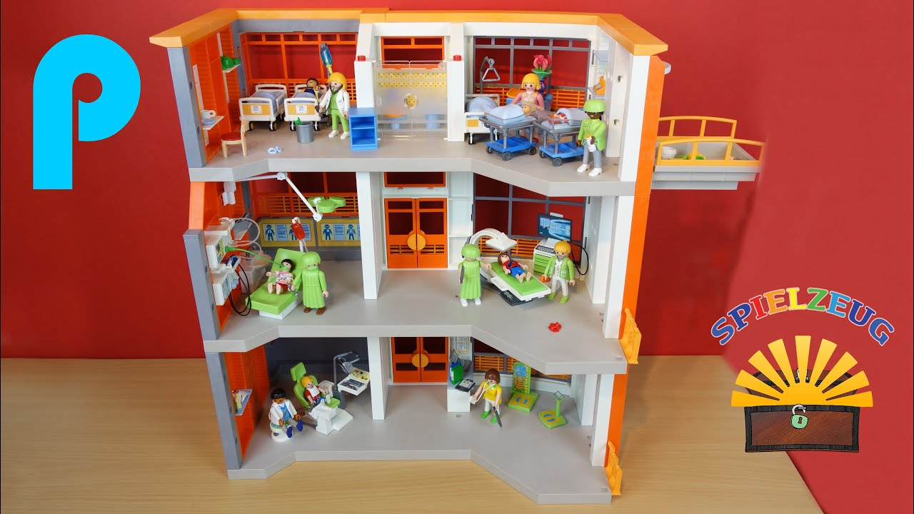etagen erg nzung kinderklinik 6443 6657 playmobil city life film krankenhaus auspacken youtube. Black Bedroom Furniture Sets. Home Design Ideas