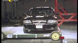 Краш-тест - Volvo S80 2000 (E-NCAP)