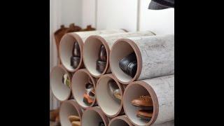 Поделки для дома из пластиковых труб своими руками
