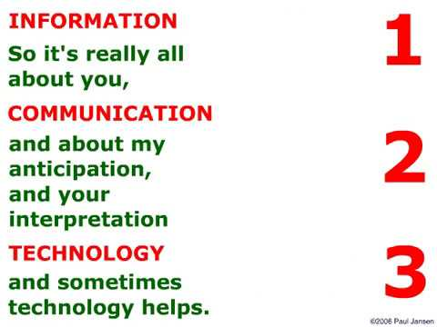 The Information Architect