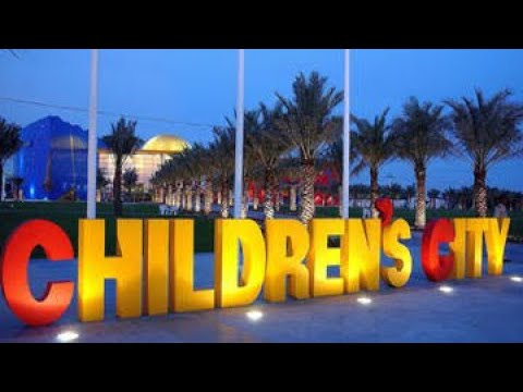 CHILDREN'S CITY DUBAI & ABANDONED WONDERLAND THEME PARK CREEK PARK